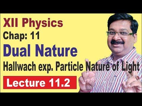 NCERT-XII-Physics- chap-11.2- Hallwach & lenard's Experiment- Dual Nature