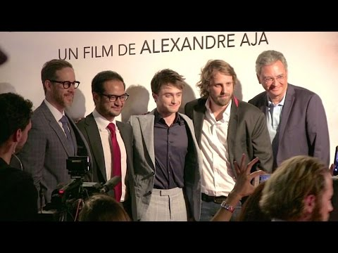 Daniel Radcliffe on the red carpet of Horns premiere in Paris
