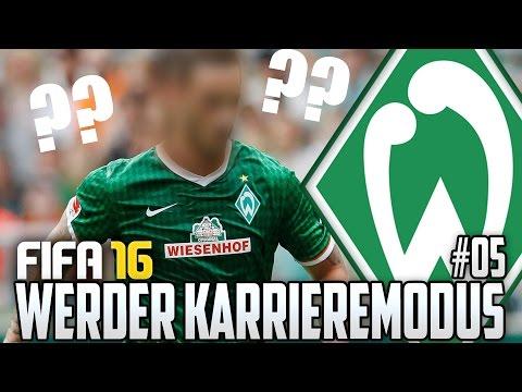 FIFA 16 KARRIEREMODUS #05 - GELINGT DER MEGATRANSFER?! - FIFA 16 Karriere Werder Bremen