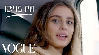 Taylor Hill: My Day At Fashion Week   Diary Of A Model   Vogue