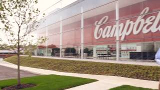 Campbell Soup new Employee HQ Bldg - walk-thru tour