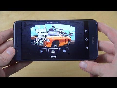 GTA San Andreas Huawei Honor 8 Gameplay Review!