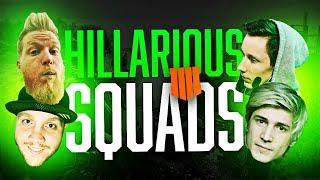 TOUGH GAMES W/ OLD BUDDIES!! (ft. XQC, fl0m & Polen) | Blackout Battle Royale Highlights #5