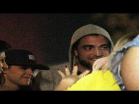 Robert Pattinson with Kristen Stewart, Katy Perry and friends at Coachella 04/13/2013