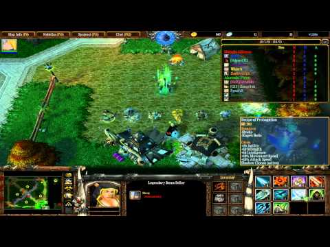 Zapaříme CZ - Let's play - Warcraft 3 The Frozen Throne - Naruto Wars Unlimited