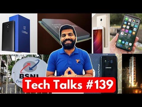Tech Talks #139 - BSNL Killed Jio, OnePlus 3T Black, RedMi Note 4 Offline, AMD Ryzen 5