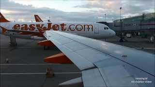 Easyjet EZY3249 London Stansted (STN) - Naples (NAP) A319-100 G-EZDE *FULL FLIGHT* 9/8/13 [1080p HD]