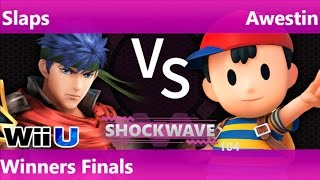 SW 104 - SWG   Slaps (Ike) vs SS   Awestin (Ness) Winners Finals - Smash 4