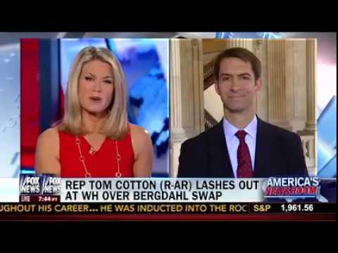 June 20, 2014: Rep. Tom Cotton Discusses the Bergdahl Prisoner Exchange on FNC's America's Newsroom