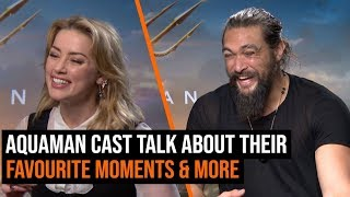 Aquaman Cast Talk About Their Favourite Moments & More