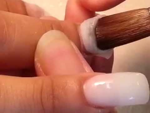 How to Pretty Apply Acrylic Powder for Long Nails
