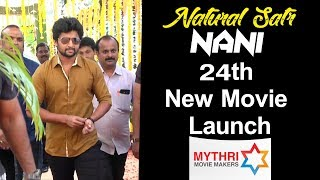 Natural Satr Nani New Movie Launch Video | Nani | Vikram Kumar | PC Sreeram