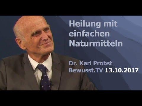 Heilung mit einfachen Naturmitteln - Dr. Karl Probst| Bewusst.TV - 13.10.2017
