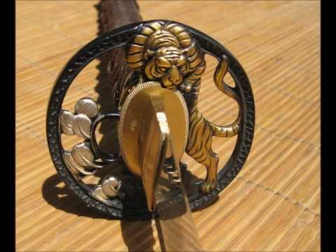 Ronin Elite Soshu Kitae Laminated Tiger (Tora) Samurai Sword