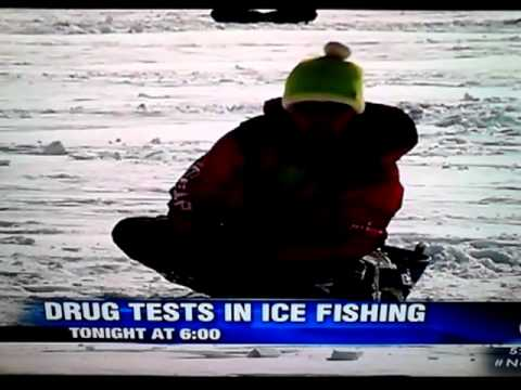 Drug testing on local fishing contest, I bet you couldn't even guess...