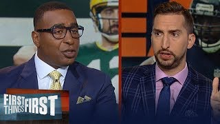 Cris & Nick give keys to the Packers defeating the Bears in season opener | NFL | FIRST THINGS FIRST