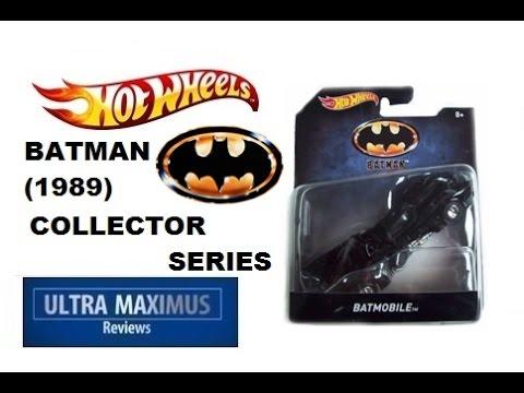 Batmobile (1989) Hot Wheels Collector Series
