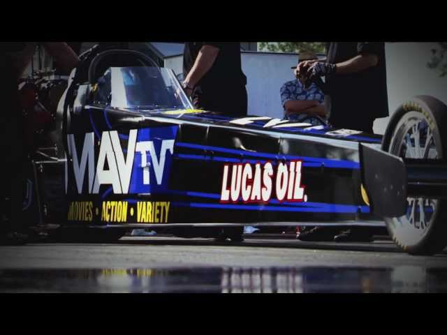 Brandon Bernstein NHRA Top Fuel Dragster 2012 Sneak Preview