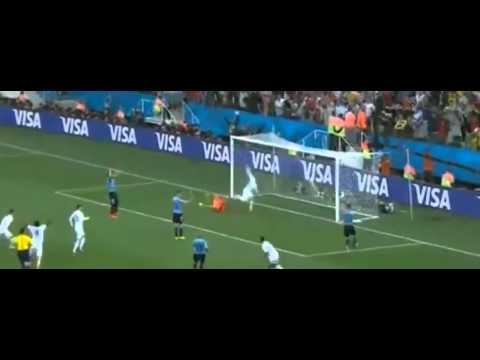 Uruguay 2-1 England : WORLD CUP 2014 BRAZIL