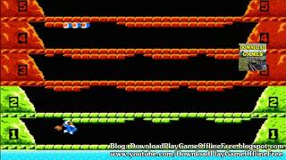 Download & Play game Ice Climber Nitendo nes on pc