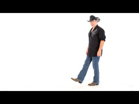 How To Line Dance To Cotton Eye Joe | Line Dancing video