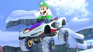 Mario Kart 8 Deluxe - Mirror Star Cup (Luigi Gameplay)