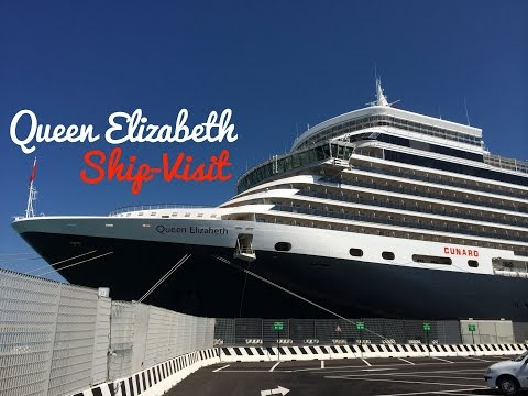 Queen Elizabeth Ship-visit (June 18th, 2014)