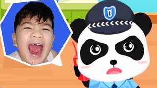 BABY PANDA'S BRAVE JOBS | GAMEPLAY VIDEO | EDUCATIONAL GAMES FOR KIDS | BABYBUS