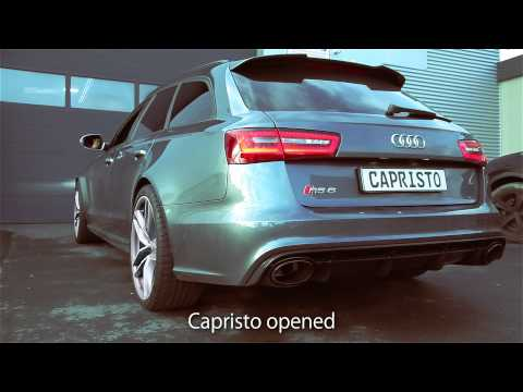 Soundfile Audi RS6 Biturbo C7 and RS7 Sportback with Capristo Exhaust