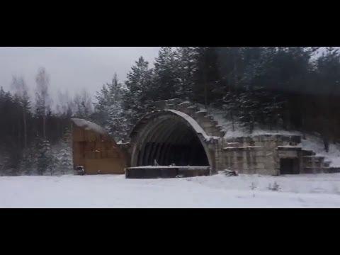 Поездка на заброшенные в лесу военные объекты