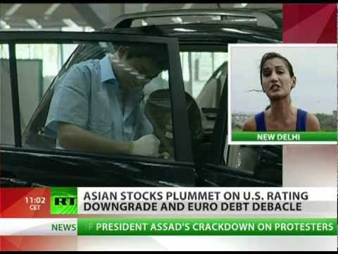 Markets Mayhem: Asia stocks plummet on US rating downgrade