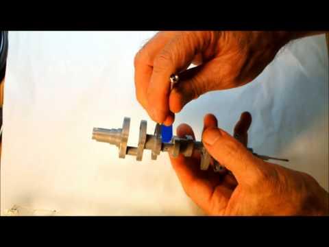 Visible V8 Crankshaft Sept 15 2011