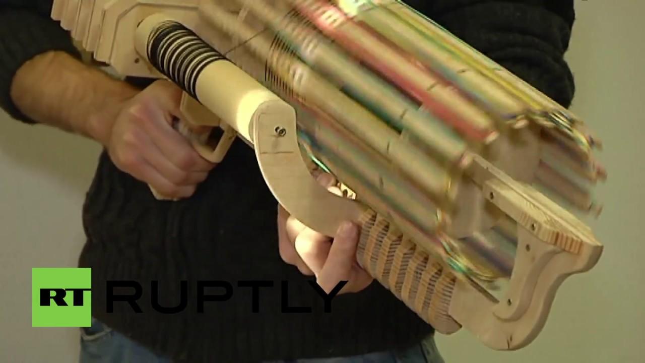 Пулемет своими руками из бумаги 82