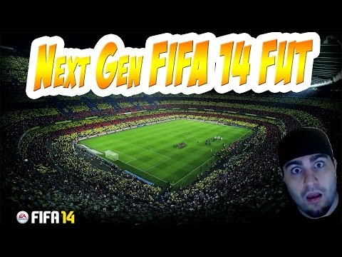 FIFA 14 Next Gen - Ultimate Team - First game On Ps4