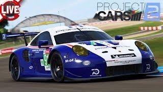 PROJECT CARS 2 - 2,4 Stunden von Le Mans - Multiplayer (LMP1, LMP2, GTE) - Project CARS 2 Livestream