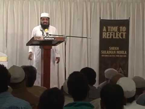 'global Unrest' Islamic View | Sh Sulaiman Moola video
