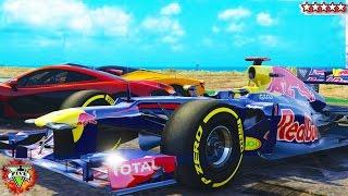 GTA 5 Red Bull F1, LaFerrari, McLaren P1 & Ferrari Italia 458 Mods (GTA 5 Mod)