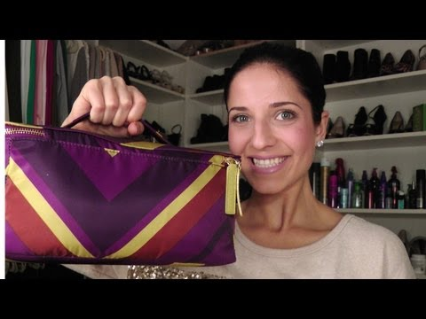 What's in my travel beauty bag? Starring Laura Vitale