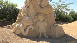 Burgas Sand Sculptures Festival 2014