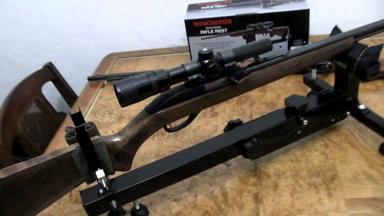 Winchester Sharp Shooter Rifle Shooting Rest Youtube
