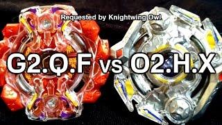 Gigant Gaia .Q.F vs Obelisk Odin .H.X - BATALHA BEYBLADE BURST! ベイブレードバースト