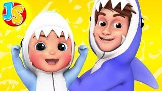 Baby Shark Song + More Nursery Rhymes and Kids Songs