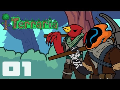 Let's Play Terraria 1.3.4 Expert Mode - Part 1 - Let's Try Again, With More Friends!