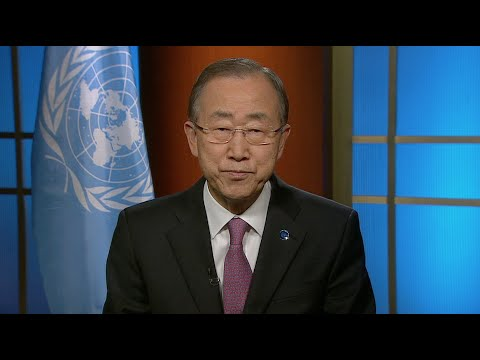 Ban Ki-moon on International Day of Mine Awareness and Assistance in Mine Action - Video message