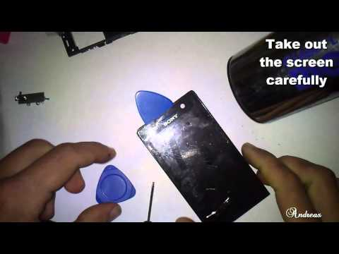 Sony Xperia U ST25i Repair Touch Screen