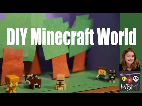 Minecraft - DIY Craft Build Your Own World for Mini Figures