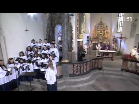 Santo, Messa in diretta nazionale da Quinto (TI) - Scuola Corale della Cattedrale di Lugano