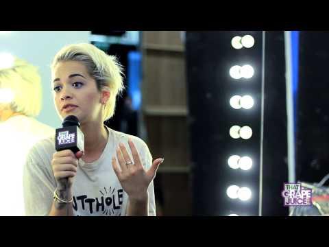 Hot Shots: Rita Ora Shoots Video With Chris Brown