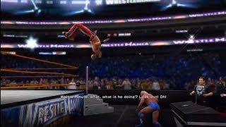 WWE 2K14: Wreslemania 24: Shawn Michaels Vs. Ric Flair (Career Threatning Match)