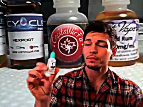 E-cigs - Vaping for Beginners (Part 1) - E-liquid / E-juice